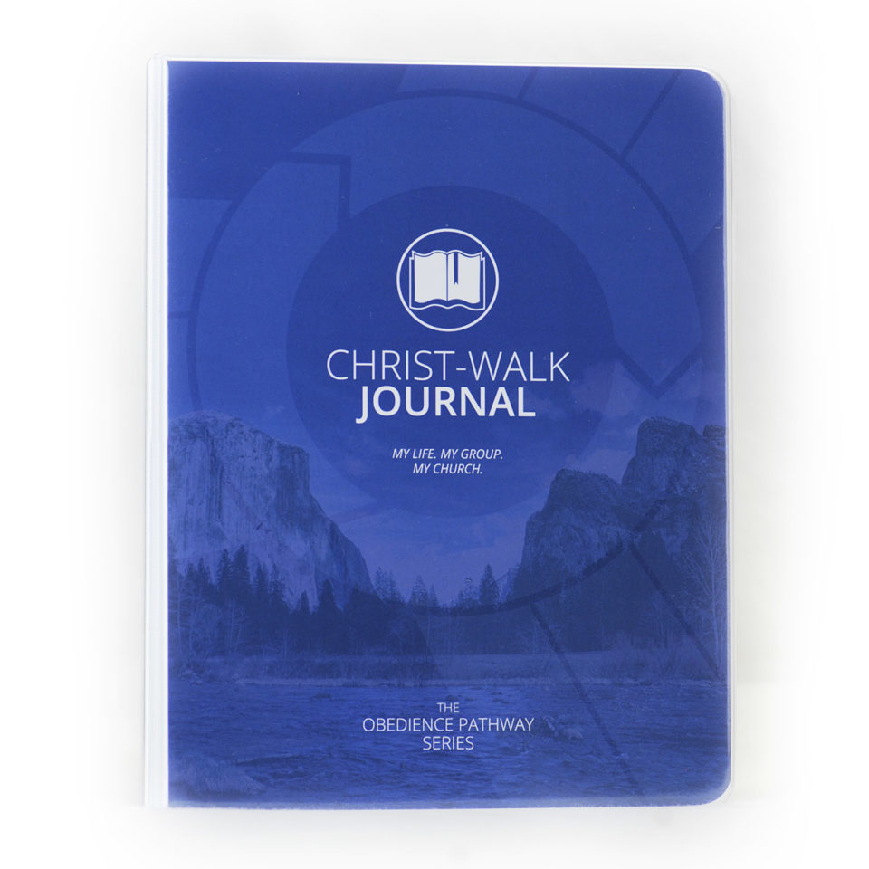 Christ-Walk Journal_Men (Blue)