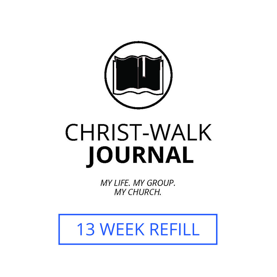 13 Week Refill for the Christ-Walk Journal